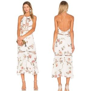 X by NBD Felicity Embroidered Dress in Floral